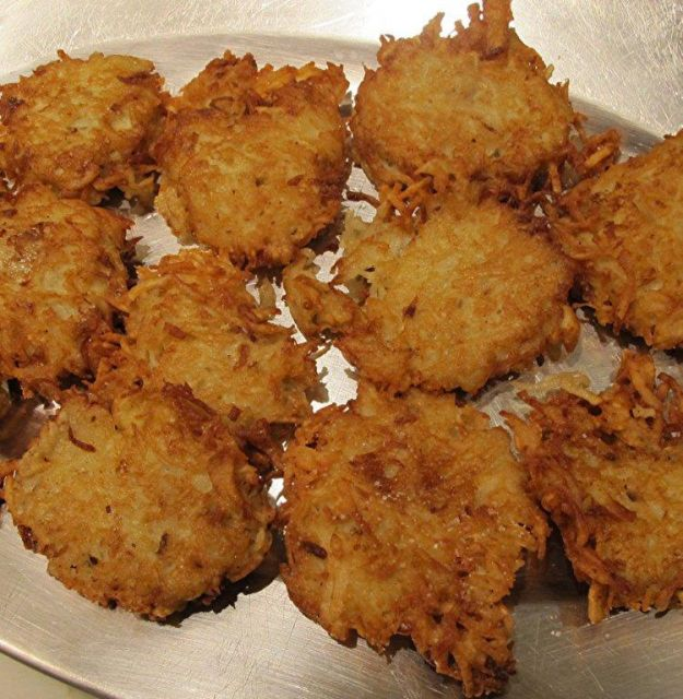 crocchette di patate e topinambur
