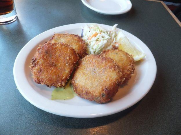 Crocchette di salmone e gamberetti