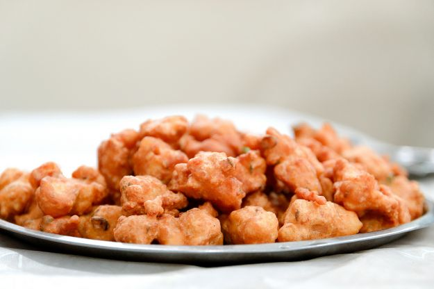 Cuculli (frittelle di farina di ceci)