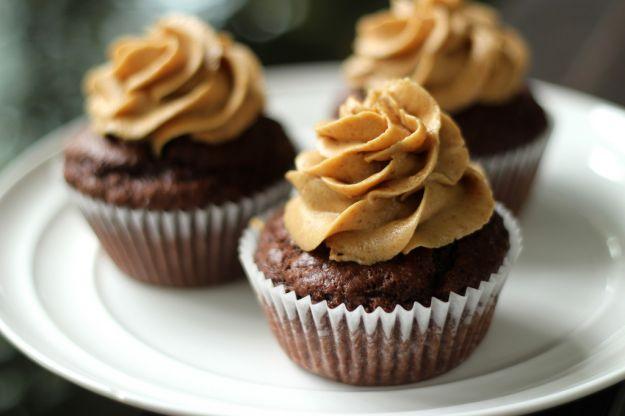 Cupcakes al cioccolato senza glutine