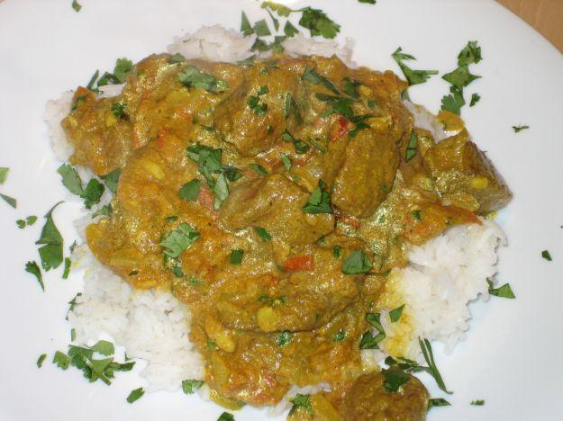 Curry di agnello facile
