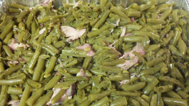 Fagiolini in padella con prosciutto