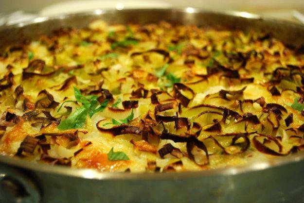 Finocchi gratinati con il curry