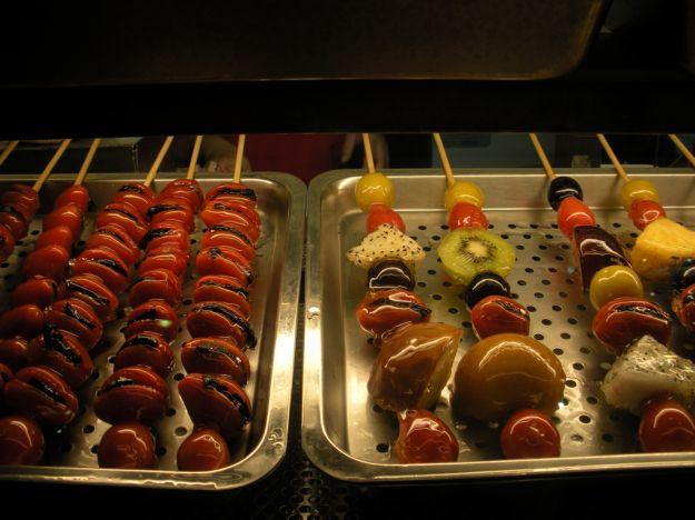 Frutta di stagione caramellata