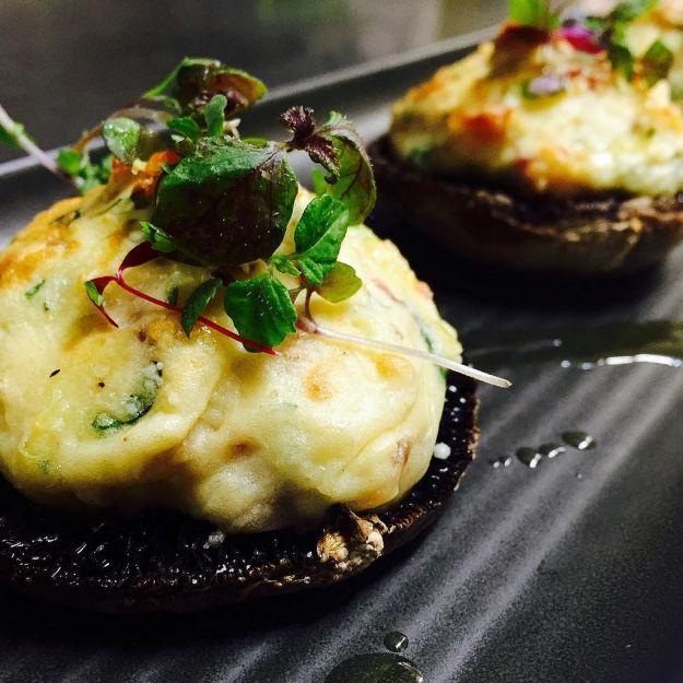 Funghi e patate cremosi