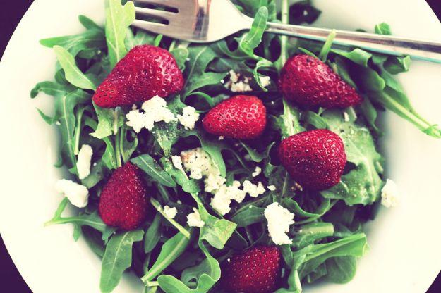 insalata di fragole e caprino2