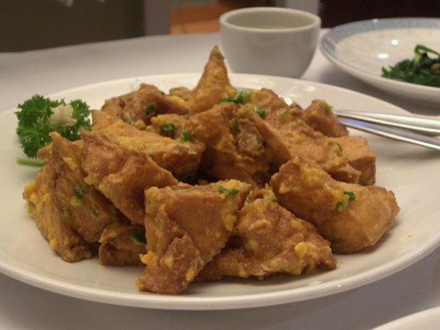 insalata di pollo al prezzemolo