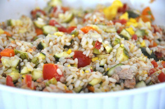 Insalata di riso con il Bimby
