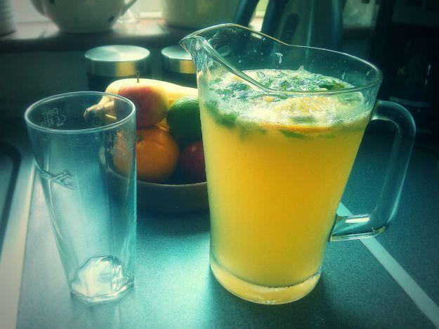 Limonata al basilico