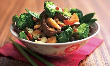 Manzo con pepe di Sichuan e verdure