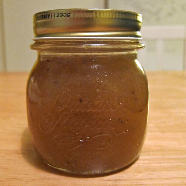 Marmellata di pere al rum