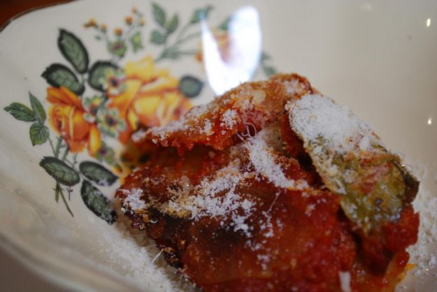 Melanzane in salsa piccante