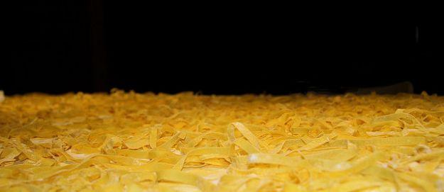 Minestra di tagliatelle e castagne