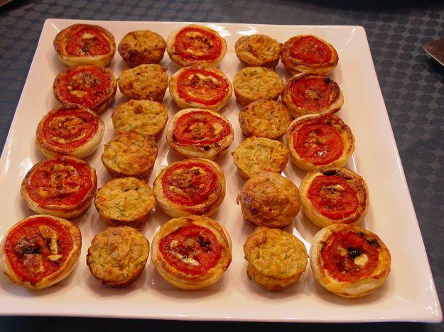 Mini muffin pomodoro e curry