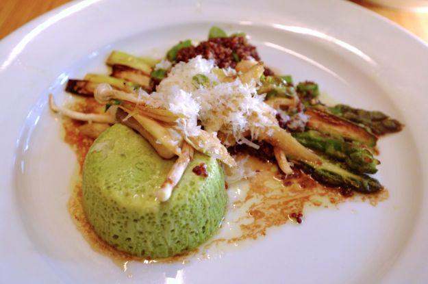 Mousse di asparagi