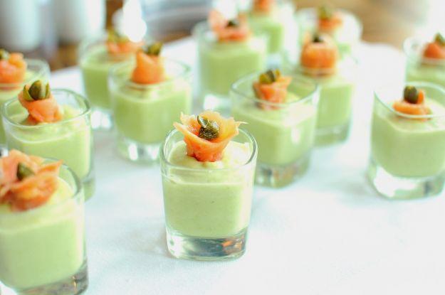 Mousse di zucchine al basilico
