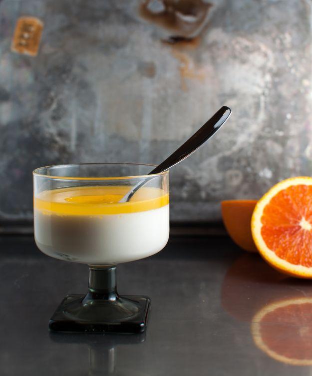 Mousse di mascarpone all'arancia