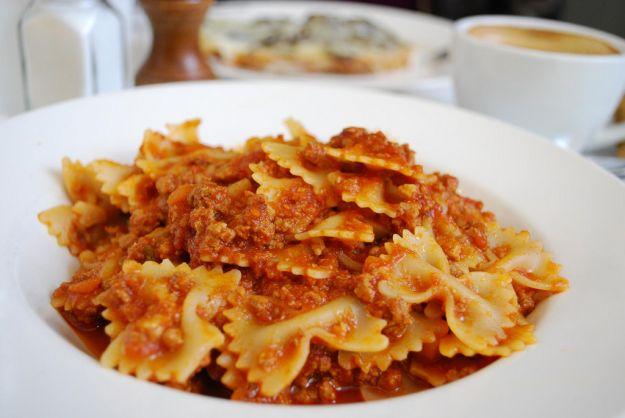 pasta al ragù vegetariano