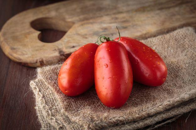 pasta all amatriciana pomodori san marzano