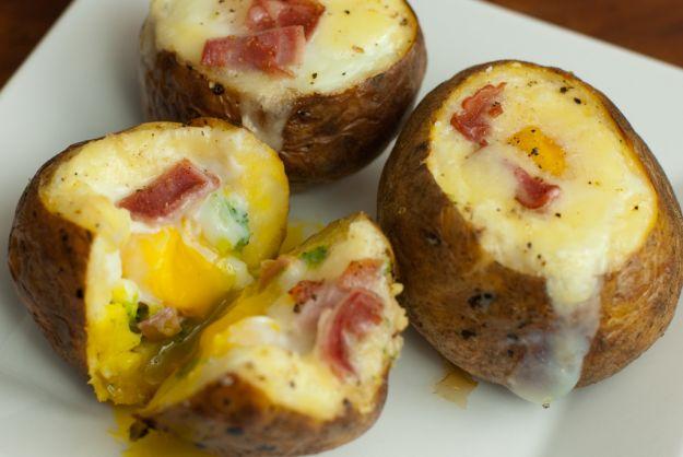 patate alla besciamella e prosciutto