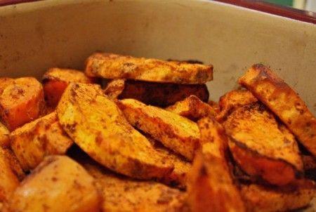 patate arrosto al peperoncino