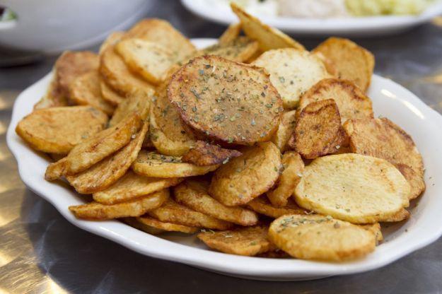 patate croccanti al gusto di aglio 1