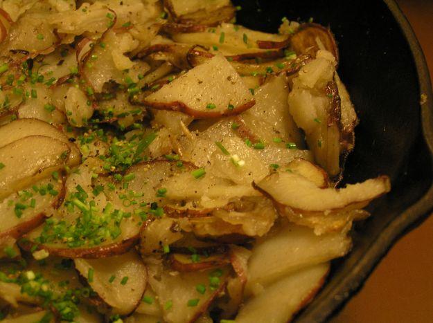 patate sottili in padella