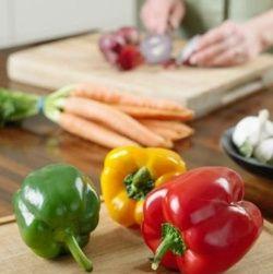 Involtini di peperoni con fontina e manzo