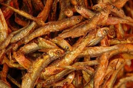 Pesciolini fritti con erbe aromatiche