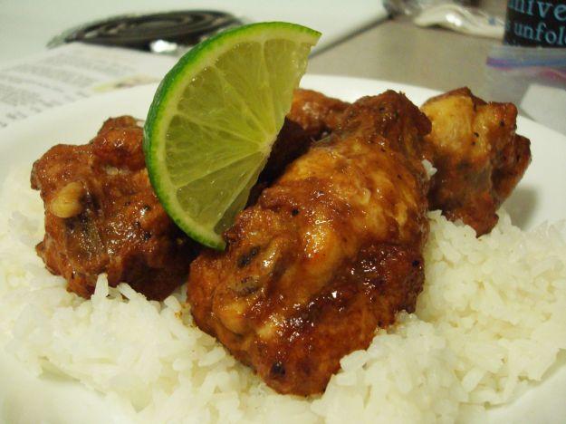 Pollo marinato al lime