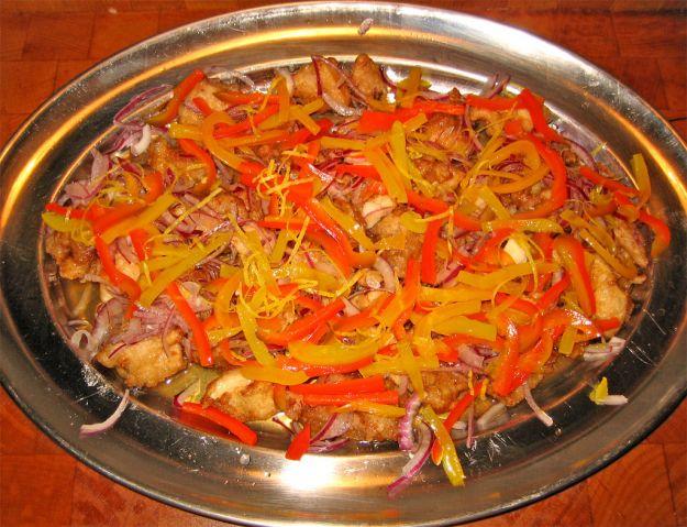 pollo marinato alla piastra
