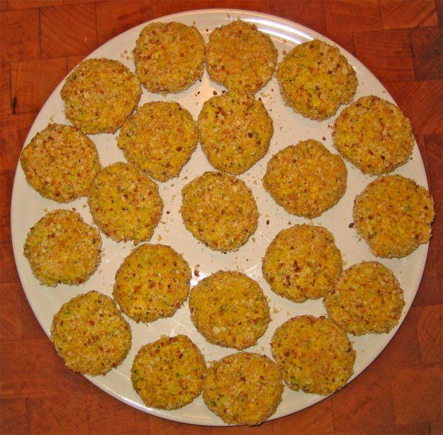Polpette di riso e farina di castagne