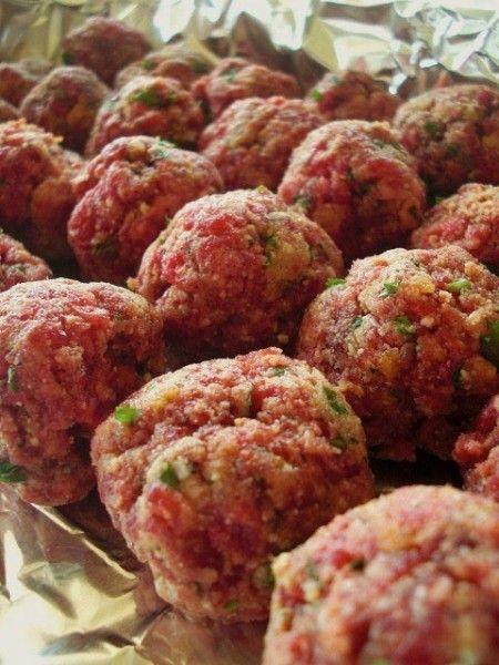 polpettine di carne cruda