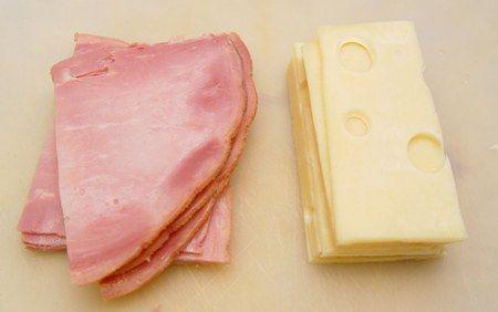 Ciambella di prosciutto e formaggio