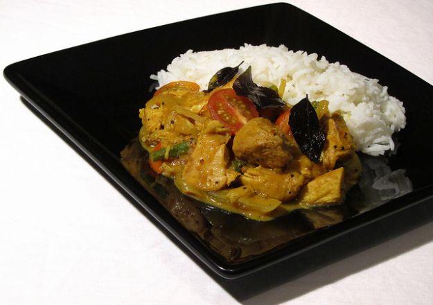 ricetta avanzi tacchino curry
