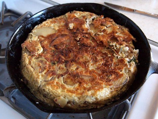 ricetta della frittata di cipolla