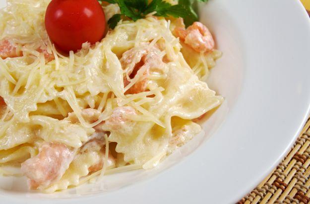 ricetta pasta salmone