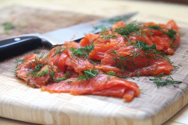 ricetta salmone marinato