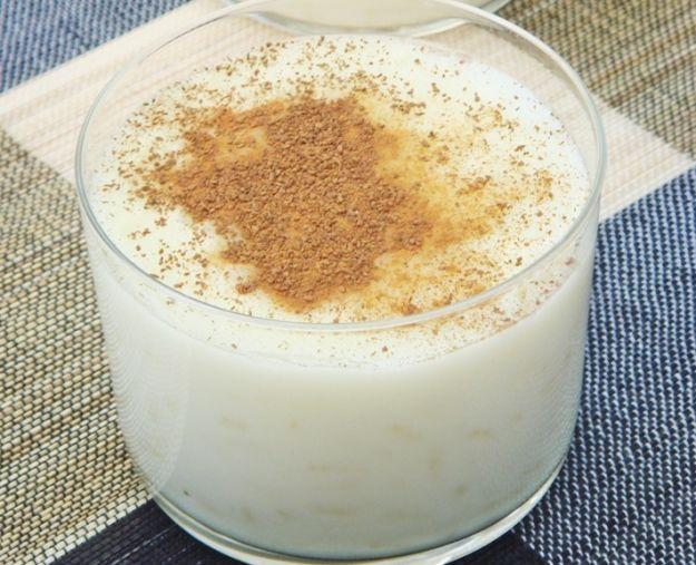 Riso e latte al cioccolato bianco