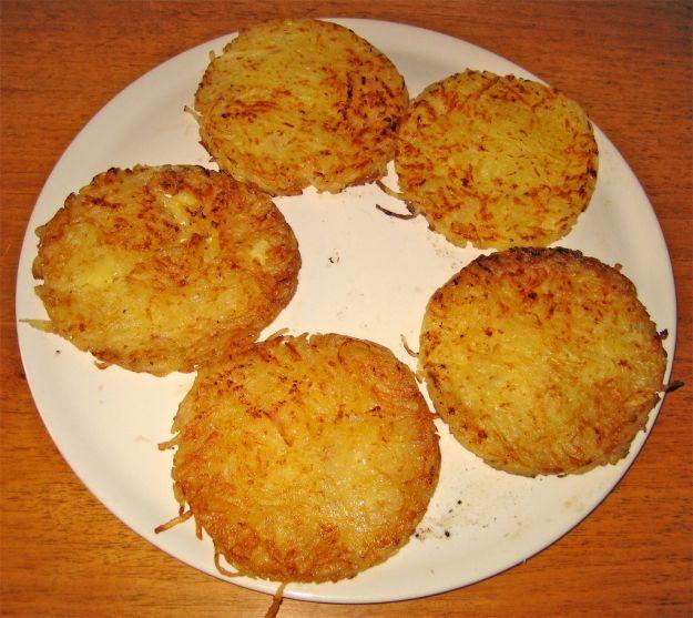 Rosti di patate alle spezie