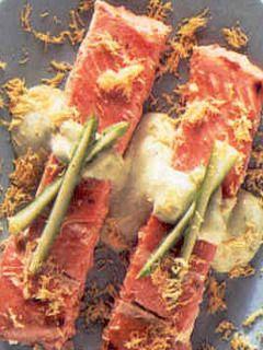 Salmone in salsa