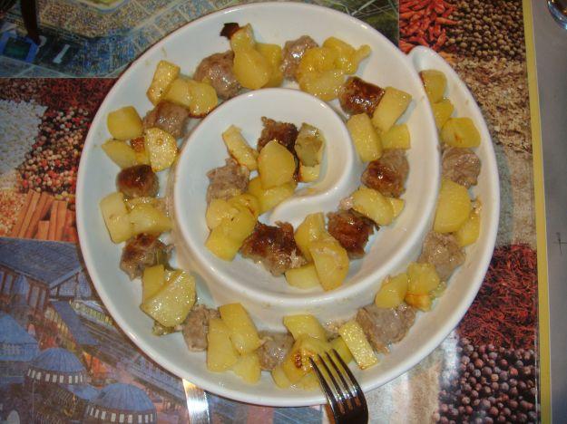 Salsiccette con patate