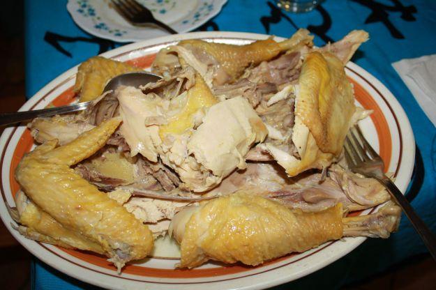 13 pollo allo zenzero pronto