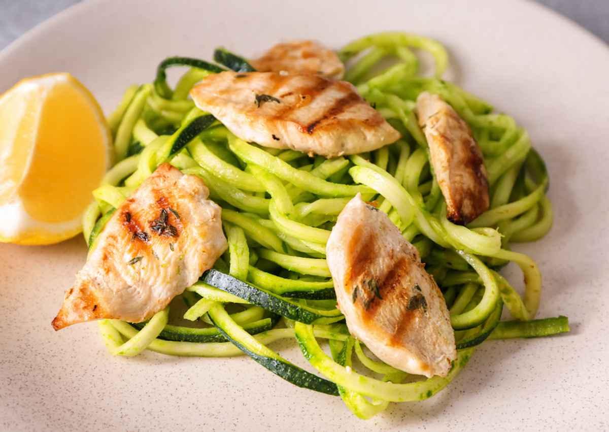 Zucchine, ricette estive sane