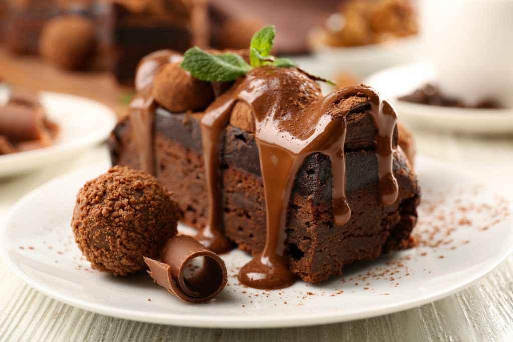 Semifreddo cioccolato e menta