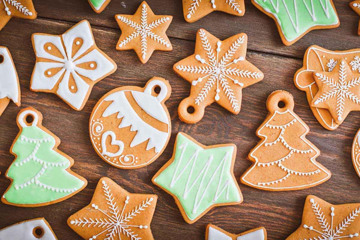 Biscotti per albero di Natale
