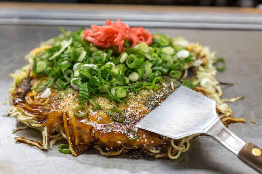 Cucina giapponese: okonomiyaki