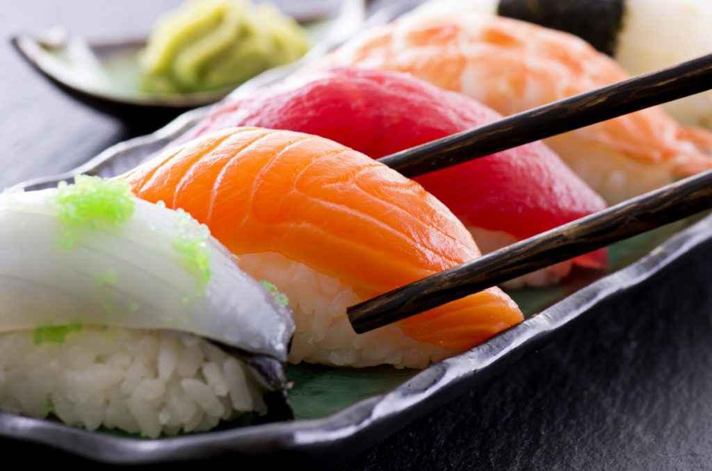 Cucina giapponese: sushi