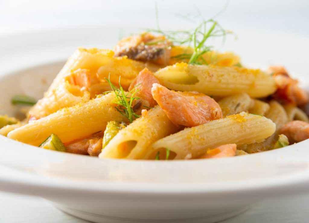 Pasta salmone e zucchine con Bimby