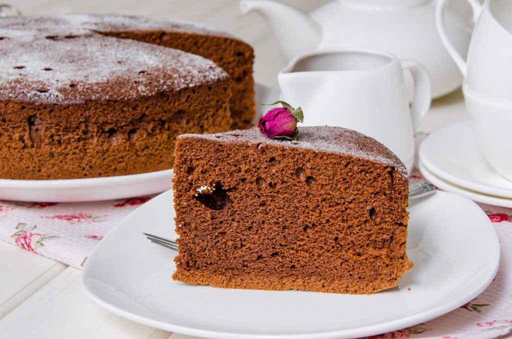 torta paradiso al cacao e cioccolato